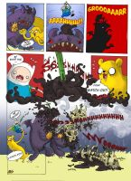 Adventure Time - Colliding Worlds Page 2 by IzaPug