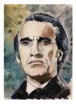 Christopher Lee the BDE (best Dracula ever) by nash8808