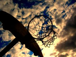 Basketball Hoop by kerrikuklinski