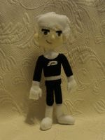 Custom plush - Danny Phantom by silentorchid