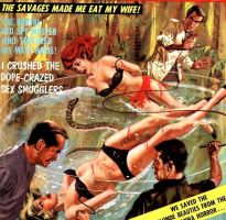 The Savages Made Me Eat My Wife by peterpulp