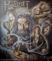 The Hobbit by ilmyart