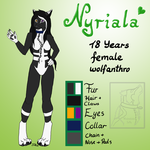 Nyriala Ref-Sheet by WindmelodieSoMu
