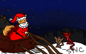 Santa Claws Came!!! by Twistitch