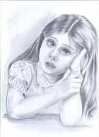 portrait of a girl by Persiangirl