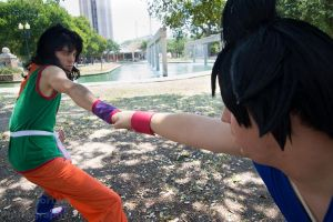 DRAGONBALL~BRO FIST!!!! by bandbutters