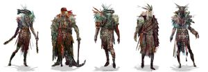 Advanced Warshamans by mythrilgolem1