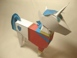 MLP - Shining Armor Doll papercraft by RocketmanTan