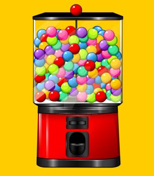 Tutorial: Gumball Machine Vector by marywinkler