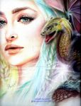 Daenerys Stormborn Targaryen, Mother of Dragons by nakedcrayon23