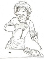 No spider-man by Alrunerod
