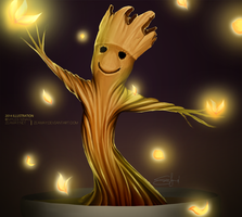 I.am.groot by Zeamay