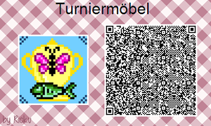 ACNL - Museum Sign 'Tournament Furniture' by Rickulein