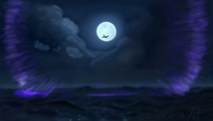 Midnight Flight by katurdi
