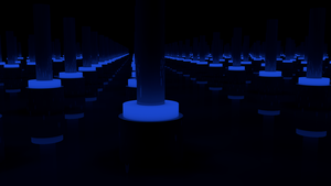 Unlimited room. Blue version by tobber103