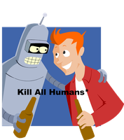 Kill all Humans by pixie-the-gator