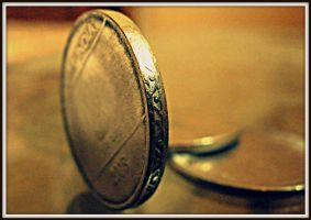 ages of edges..story of a coin by fatestinker