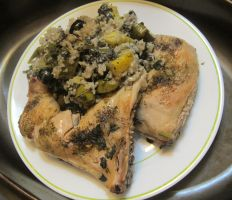 Mediterranean Roast Chicken and Rice 1 by Windthin