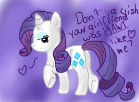 Don'tcha wish ya girlfriend was HAWT like meh? by DallyDog101