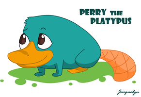 Perry The Platypus by Jackie-lyn
