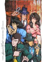 LUPIN the 3rd 1st TV series by handesigner