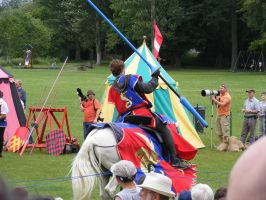 Jousting - Knight 25 by Axy-stock
