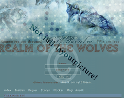 Wolf Rpg Site preview. by Virochan