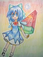 Cirno 2 by hanahello