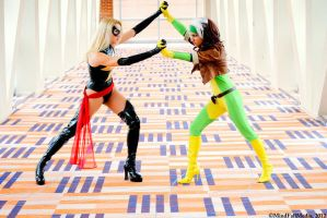 Avngers vs X-Men: Round 1 by JeanneKilljoy
