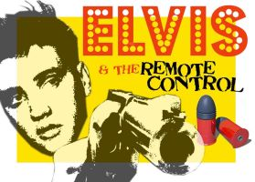 Elvis and the remote control by misfitmalice
