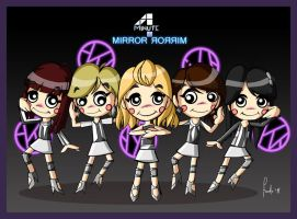 4MINUTE - Mirror Mirror by posole