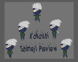 Kakashi Shimeji Preview by Jazzurt
