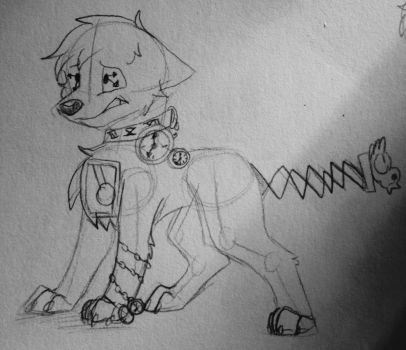 Drawing Challenge Day(12/16/14) 154: Clockworth by hayy1