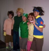 AE Cosplay 06 - Digimon Group by Zephra85