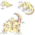 Clawgolin, Pangokill and Slaygolin by WesleyFKMN