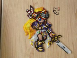 Silmiera Valkyrie Profile Perler Beads (CSW) by Cimenord