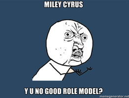 Miley Cyrus Y U NO by WiiMiiYay