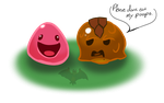 Slimes by IceDragonQueen22