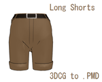 MMD- Long Shorts -DL by MMDFakewings18