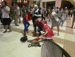 A-Kon '14 - Marvel 7 by TexConChaser
