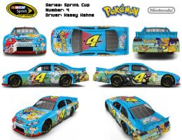 Pokemon Themed Car Design by Fuzon-S