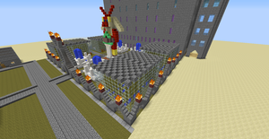 Ignis's Mansion in Minecraft by Lucaria-Rukario