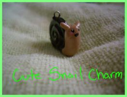 Cute Snail Charm by Demi-Plum