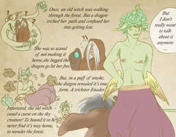 Chapter 1 Enader: Bound to the Forest by PettyPrince