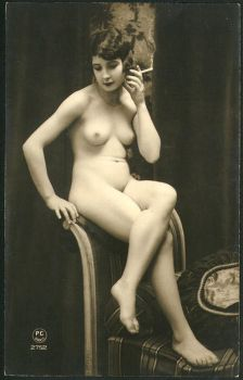 Vintage Nude 8 by HauntingVisionsStock