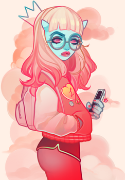 Frenchie by lolimoog