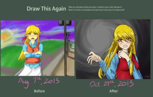 Before and After Meme: Alice Brigam 2 by ElleranS