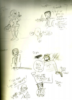 lupin iii doodles by misspepita