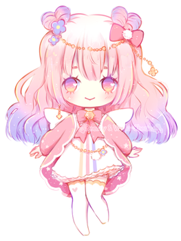 [CLOSED] Cotton Candy Cupid ~ Adopt Auction by deency