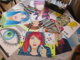 some of my work from the previous year by Art-Essel